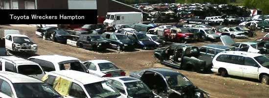 Toyota wreckers Hampton