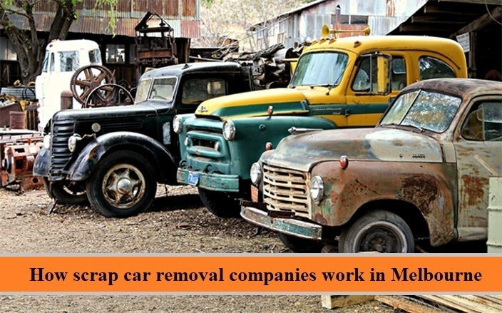 How scrap car removal companies work in Melbourne?